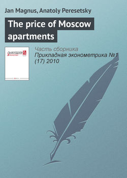 The price of Moscow apartments