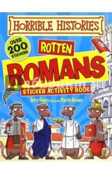 Horrible Histories Sticker Activity: Rotten Romans