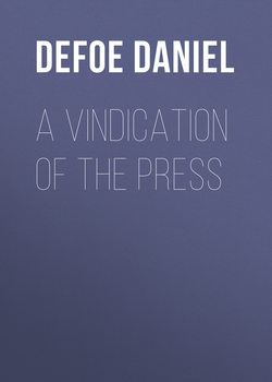 A Vindication of the Press