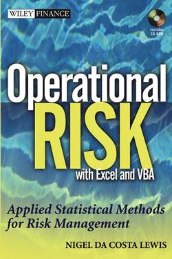 Operational Risk with Excel and VBA. Applied Statistical Methods for Risk Management, + Website