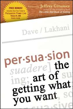 Persuasion. The Art of Getting What You Want