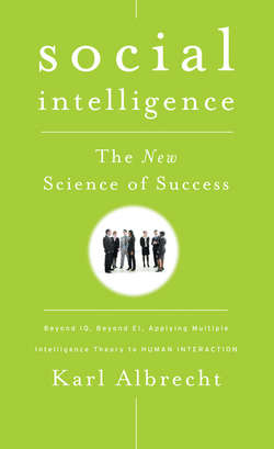 Social Intelligence. The New Science of Success