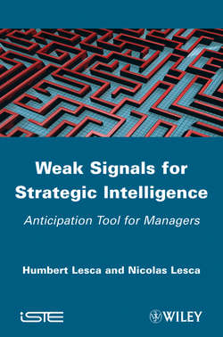 Weak Signals for Strategic Intelligence. Anticipation Tool for Managers