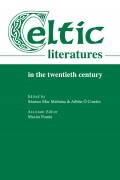 Celtic Literatures in the Twentieth Century