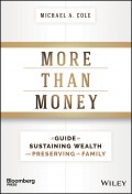 More Than Money. A Guide To Sustaining Wealth and Preserving the Family