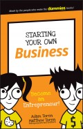 Starting Your Own Business. Become an Entrepreneur!