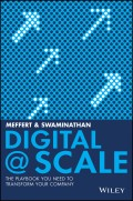 Digital @ Scale. The Playbook You Need to Transform Your Company