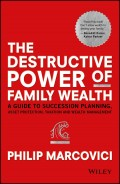 The Destructive Power of Family Wealth. A Guide to Succession Planning, Asset Protection, Taxation and Wealth Management