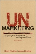 UnMarketing. Everything Has Changed and Nothing is Different