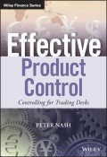 Effective Product Control. Controlling for Trading Desks