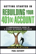 Getting Started in Rebuilding Your 401(k) Account