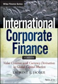 International Corporate Finance. Value Creation with Currency Derivatives in Global Capital Markets