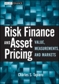 Risk Finance and Asset Pricing. Value, Measurements, and Markets