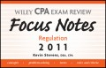Wiley CPA Examination Review Focus Notes. Regulation 2011
