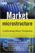 Market Microstructure. Confronting Many Viewpoints