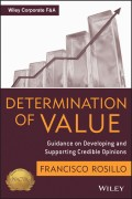 Determination of Value. Appraisal Guidance on Developing and Supporting a Credible Opinion