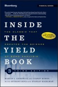 Inside the Yield Book. The Classic That Created the Science of Bond Analysis