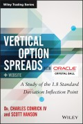 Vertical Option Spreads. A Study of the 1.8 Standard Deviation Inflection Point