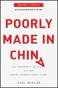 Poorly Made in China. An Insider's Account of the China Production Game