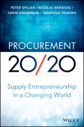 Procurement 20/20. Supply Entrepreneurship in a Changing World
