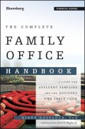 The Complete Family Office Handbook. A Guide for Affluent Families and the Advisors Who Serve Them