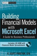 Building Financial Models with Microsoft Excel. A Guide for Business Professionals