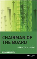 Chairman of the Board. A Practical Guide