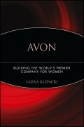 Avon. Building The World's Premier Company For Women