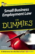 Small Business Employment Law For Dummies