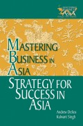 Strategy for Success in Asia. Mastering Business in Asia