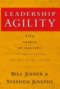 Leadership Agility. Five Levels of Mastery for Anticipating and Initiating Change