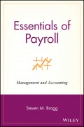 Essentials of Payroll. Management and Accounting