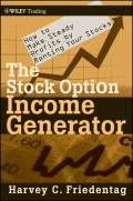 The Stock Option Income Generator. How To Make Steady Profits by Renting Your Stocks