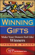Winning Gifts. Make Your Donors Feel Like Winners