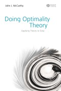 Doing Optimality Theory. Applying Theory to Data