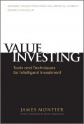 Value Investing. Tools and Techniques for Intelligent Investment