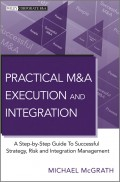 Practical M&A Execution and Integration. A Step by Step Guide To Successful Strategy, Risk and Integration Management