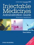 UCL Hospitals Injectable Medicines Administration Guide. Pharmacy Department