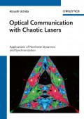 Optical Communication with Chaotic Lasers. Applications of Nonlinear Dynamics and Synchronization