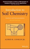 Introduction to Soil Chemistry. Analysis and Instrumentation