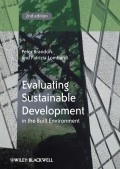 Evaluating Sustainable Development in the Built Environment