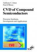 CVD of Compound Semiconductors. Precursor Synthesis, Developmeny and Applications
