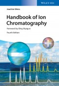 Handbook of Ion Chromatography, 3 Volume Set