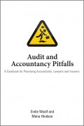 Audit and Accountancy Pitfalls. A Casebook for Practising Accountants, Lawyers and Insurers
