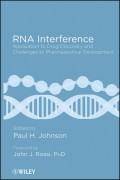 RNA Interference. Application to Drug Discovery and Challenges to Pharmaceutical Development