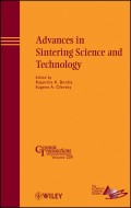 Advances in Sintering Science and Technology