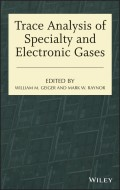 Trace Analysis of Specialty and Electronic Gases