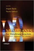 Membranes for Membrane Reactors. Preparation, Optimization and Selection