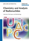 Chemistry and Analysis of Radionuclides. Laboratory Techniques and Methodology