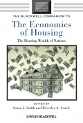 The Blackwell Companion to the Economics of Housing. The Housing Wealth of Nations